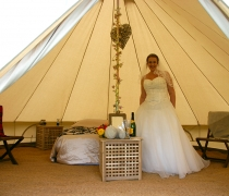 Bridal Bell at Bridge House Barn