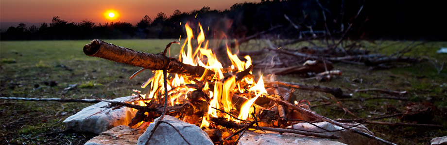 Camp Fire and Glamping in Bell Tents