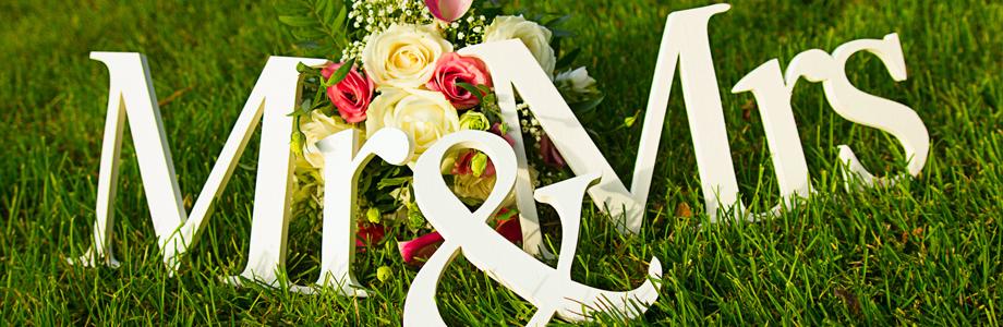 Mr and Mrs I Field Wedding