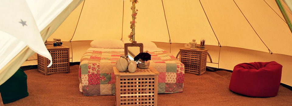 Bridal Bell Tent